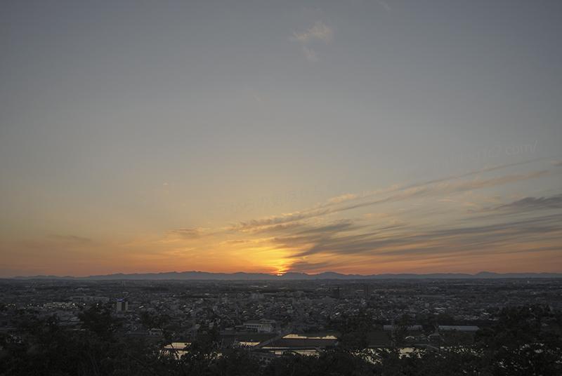 518夕陽②