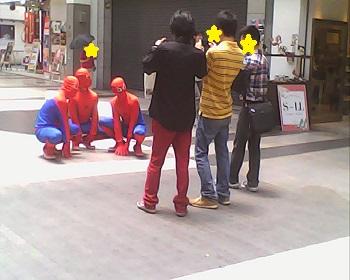 スパイダーマン?