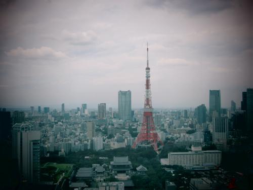 浜松町世界貿易センタービル40Fからの眺望
