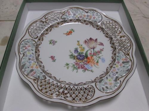 ドレスデン風飾り皿
