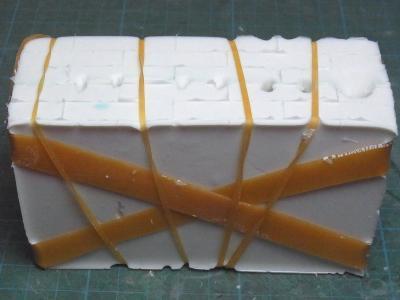 ドローメ複製・シリコン型固定