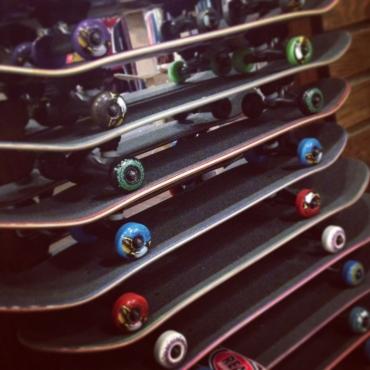 deluxe skate set