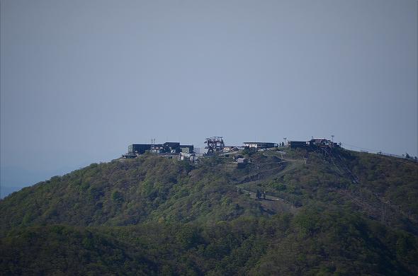 小隠里@比良山地最高峰、武奈ヶ岳へ稜線