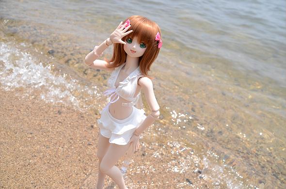 小隠里@水着撮影in琵琶湖