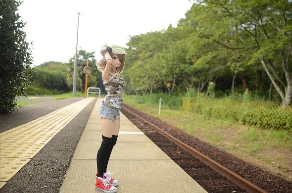 小隠里@運休中の鉄道路線へ
