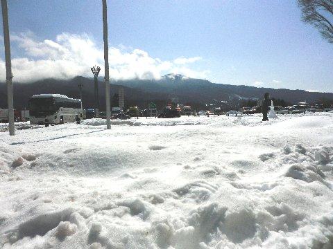 雪のSA②
