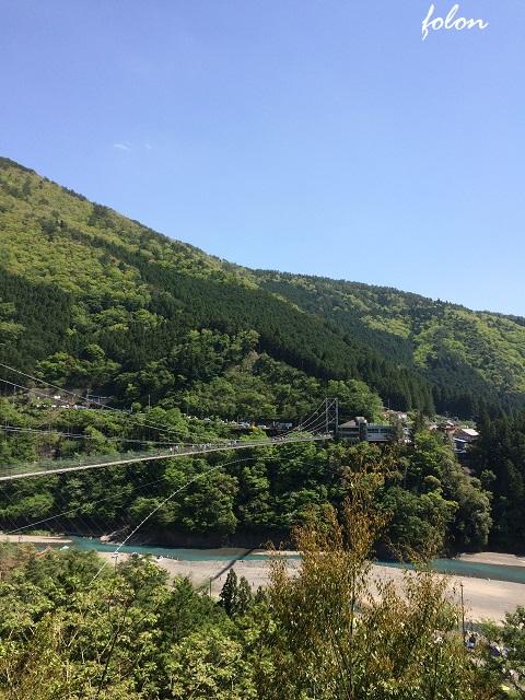 谷瀬の吊り橋~02