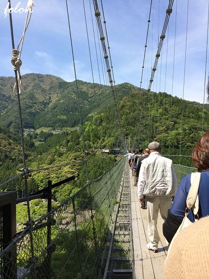 谷瀬の吊り橋~05