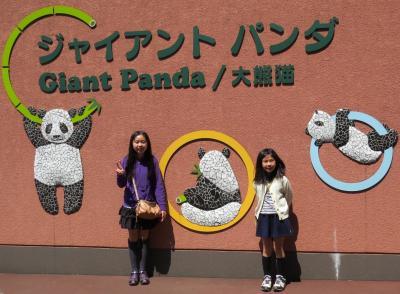 パンダ見に来ました♪
