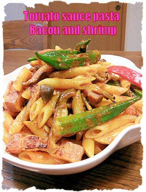 Bacon and shrimp