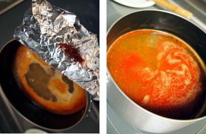 美味!パエリアスープ(サフラン不要!)