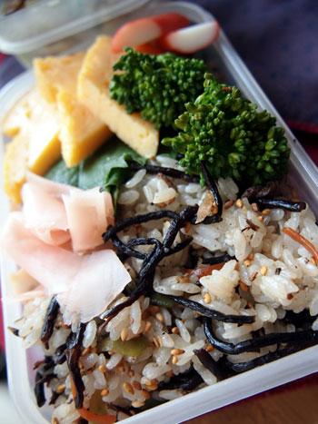 ひじき寿司弁当