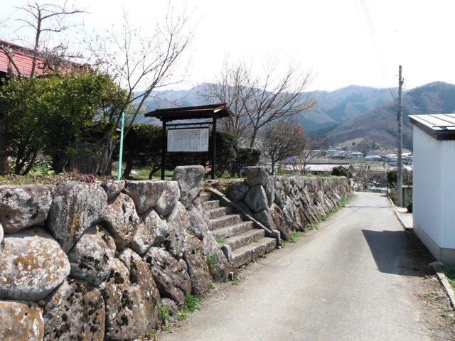 福島正則居館跡(高山村) (9)