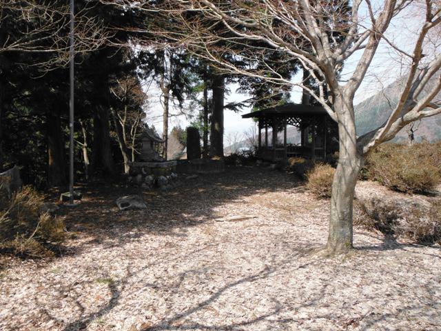 高原城(上水内郡高山村) (3)
