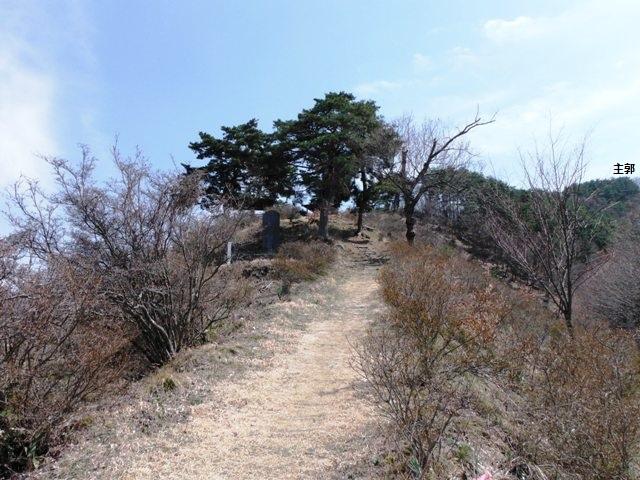 城山城(上水内郡高山村) (4)