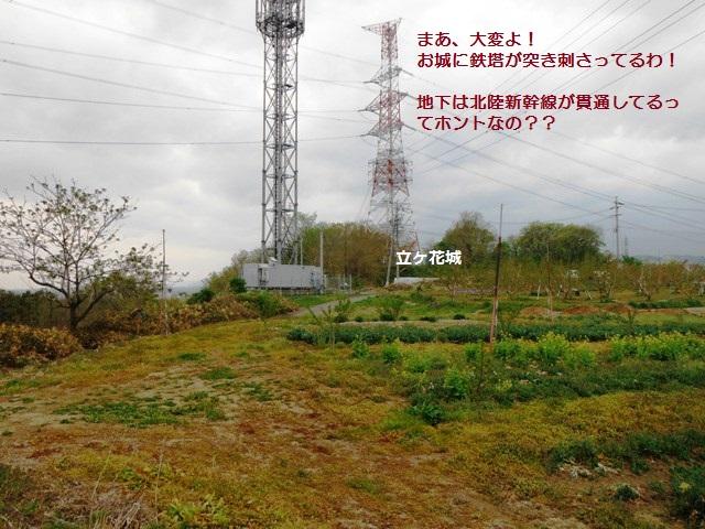 立ヶ花城(中野市) (1)