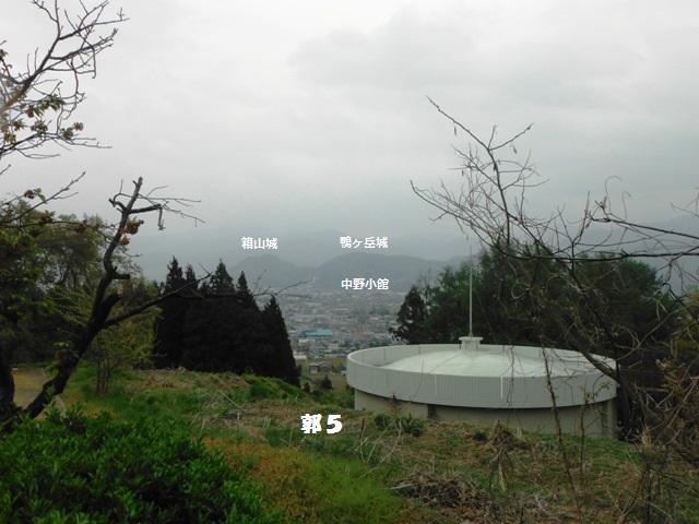 安源寺城(中野市) (2)