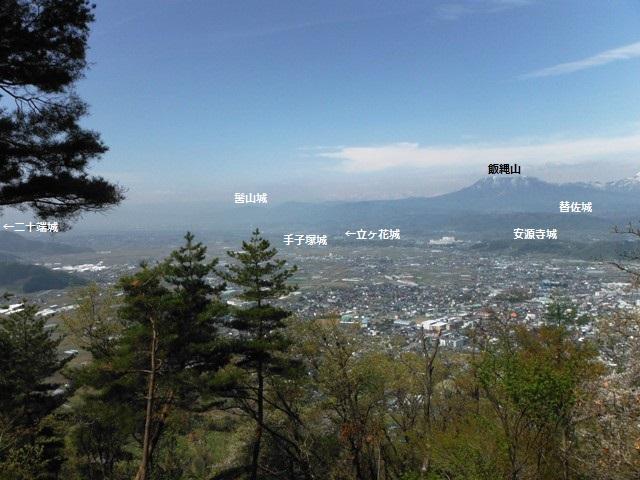 鴨ヶ岳城・鎌ヶ岳城(中野市) (77)