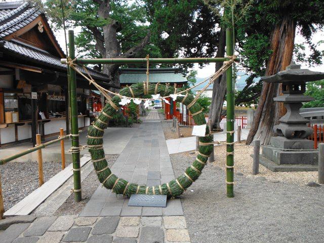 生島足島神社①
