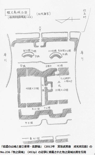 牧之島城古図①
