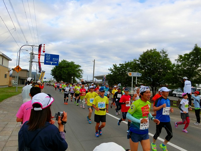 サロマ湖100キロマラソン 202