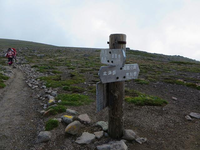 白雲岳分岐