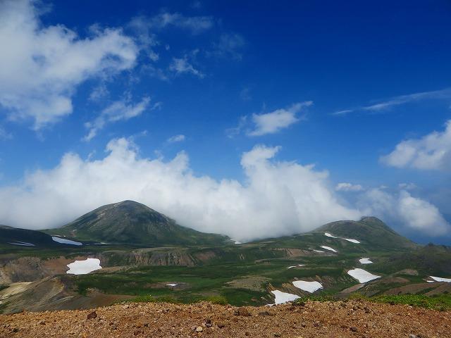 黒岳と凌雲岳