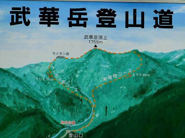 登山道絵図