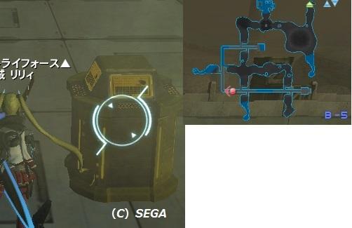 リリーパTA B5 スイッチ&MAP