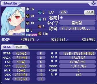 ベンヤ255レベル