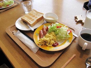 美味しい朝食(≧▽≦)♪