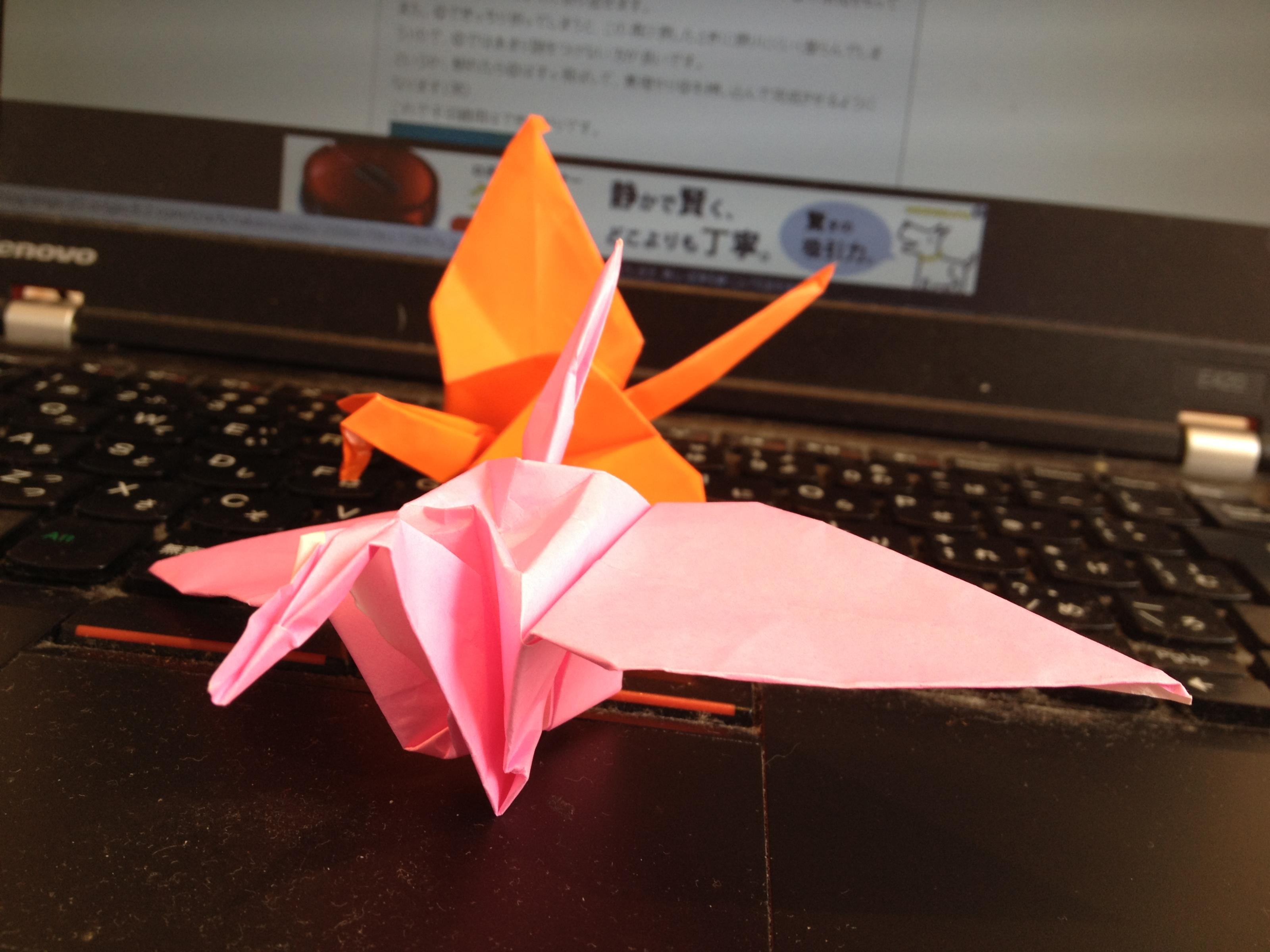 折り鶴2号機