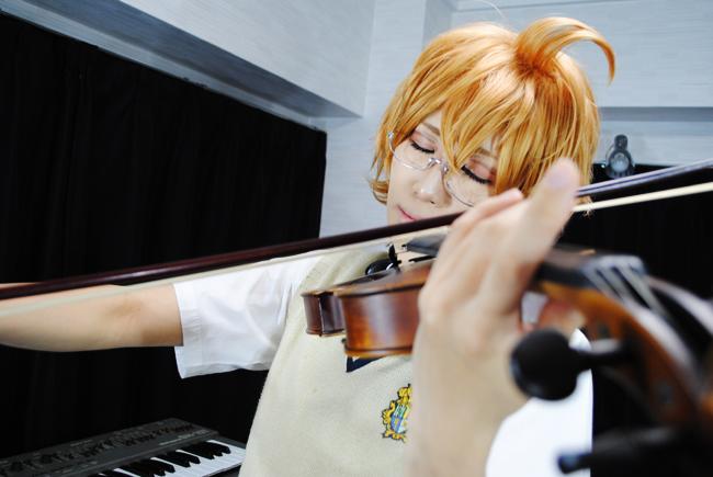 なつきバイオリンうっとり