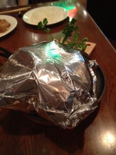 ハンバーグステーキ開ける前