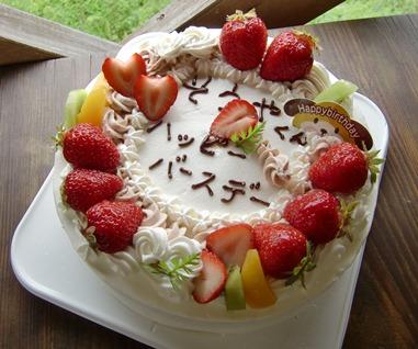 バースデーケーキ20140514