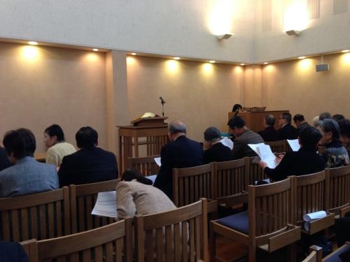 15日松阪教会
