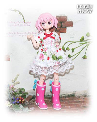 1/12DOLL 【ドレスワンピ】 服 武装神姫、figma、リボルテック、オビツ11、ピコニーモ