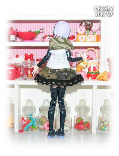 1/12DOLL 【セーラーワンピ】 服 武装神姫、figma、ピコニーモ