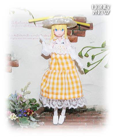 1/12DOLL【夏のお嬢さんセット】 服 武装神姫、figma、オビツ11、ピコニーモ