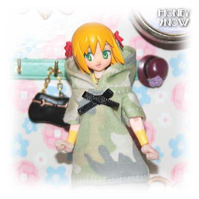 1/6DOLL 【ルームウェア】 服 武装神姫、figma、オビツ11、ピコニーモ