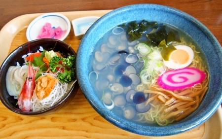 しじみラーメン&ミニ海鮮丼