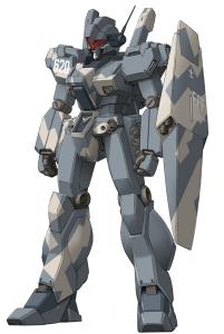 RGM-89D(シャイアン)盾つき