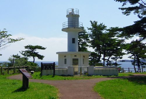 碁石海岸29碁石岬碁石埼灯台