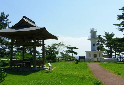 碁石海岸35碁石岬碁石埼灯台