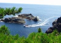 碁石海岸39碁石岬遊覧船