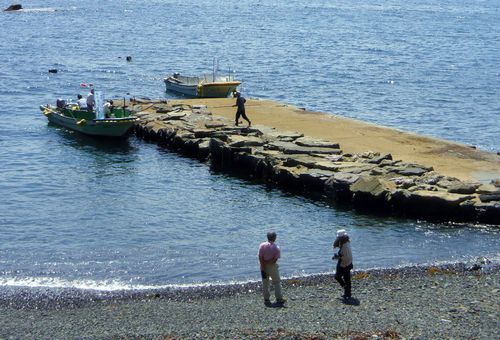 碁石海岸41碁石岬えびす浜
