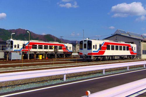 三陸鉄道全線復旧1キハ36-700