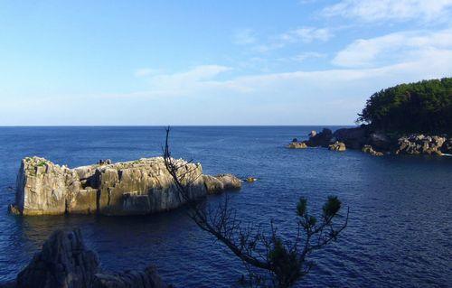 唐桑半島巨釜8八幡岩半造方面
