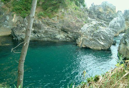 唐桑半島巨釜10水取場