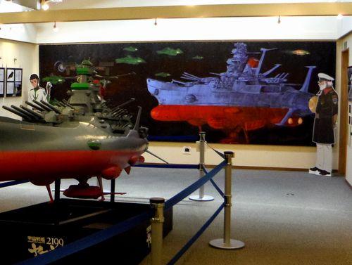 石ノ森章太郎ふるさと記念館10ライブペイント大壁画
